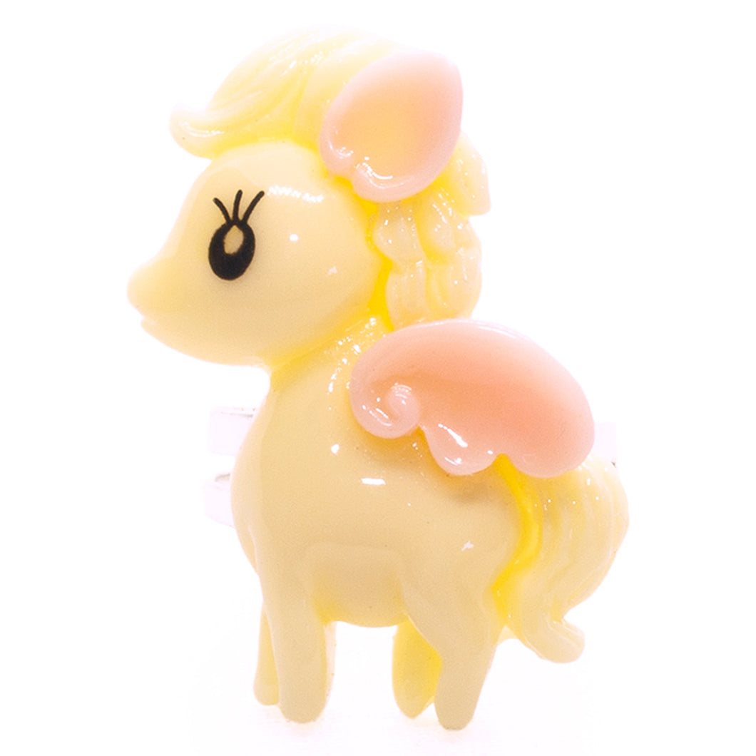 Cream Pegasus Ring