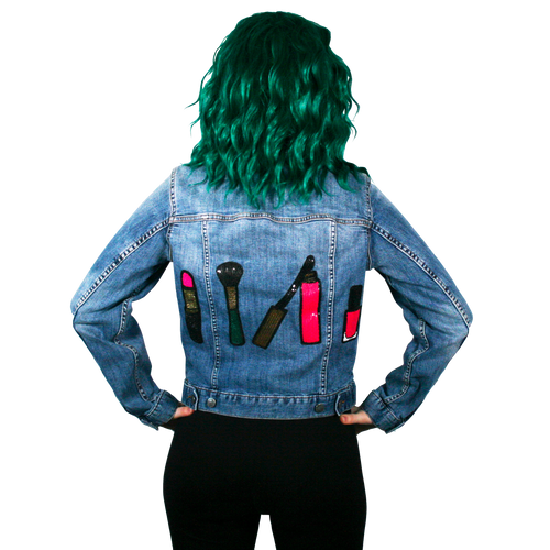 Makeup Denim Jacket