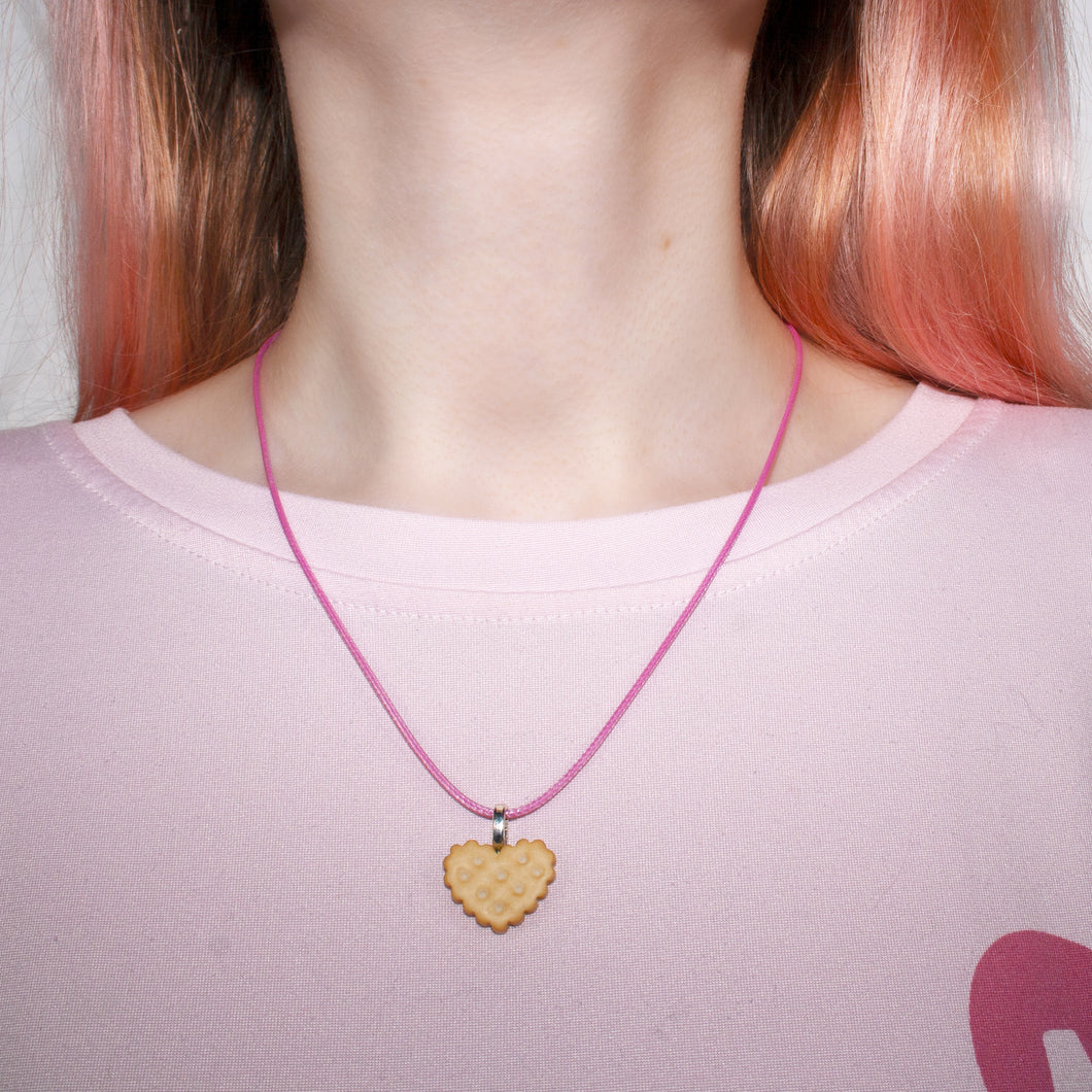 Milk Biscuit Necklace