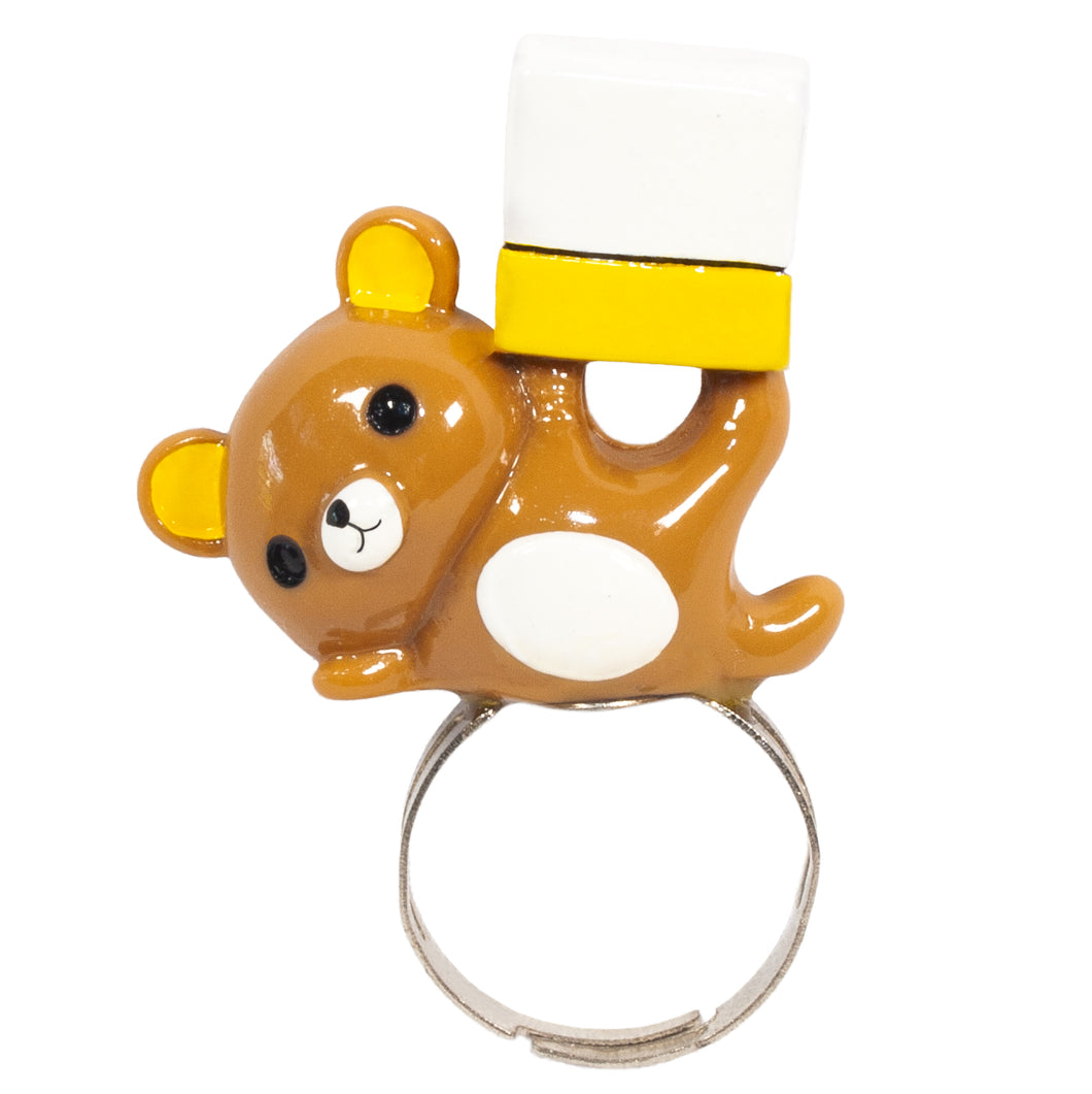 Show Off Teddy Ring