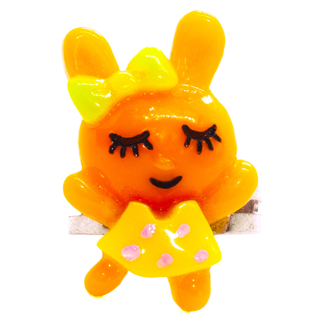 Orange Bunny Ring