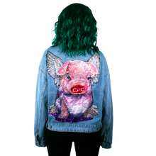 Flying Pig Denim Jacket