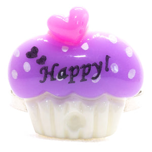 Purple Cupcake Ring