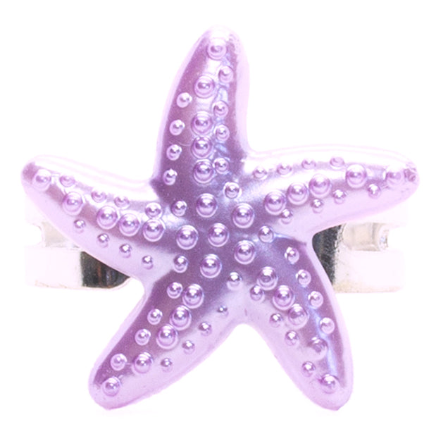 Purple Starfish Ring