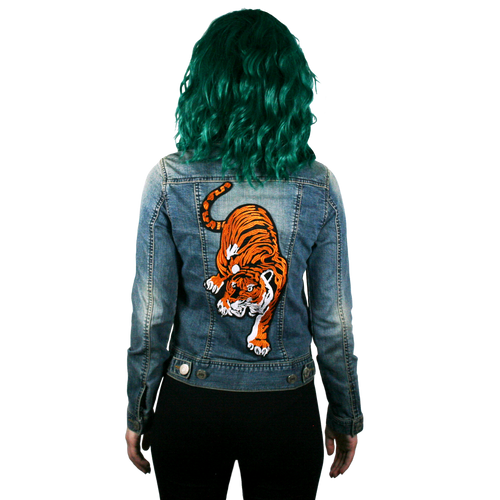 Tiger Denim Jacket