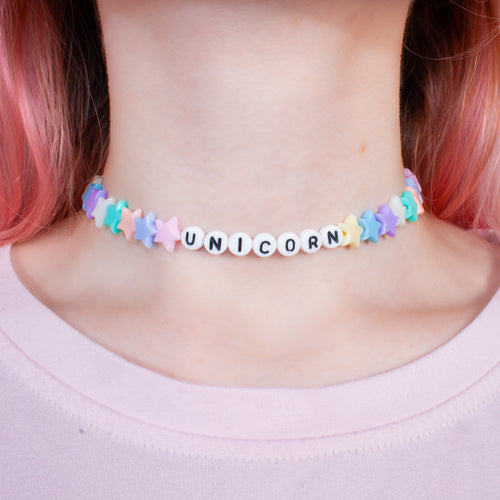 Unicorn Necklace/Choker