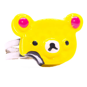 Yellow Teddy Cookie Ring
