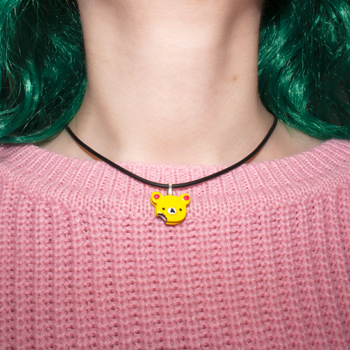 Teddy Cookie Necklace