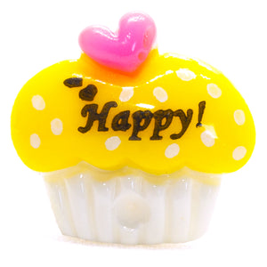 Yellow Cupcake Ring