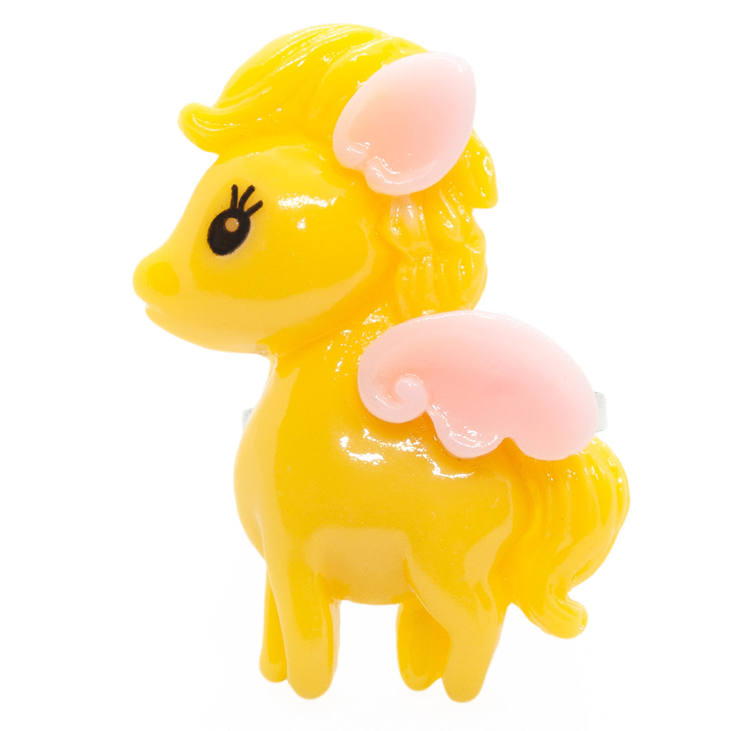 Yellow Pegasus Ring