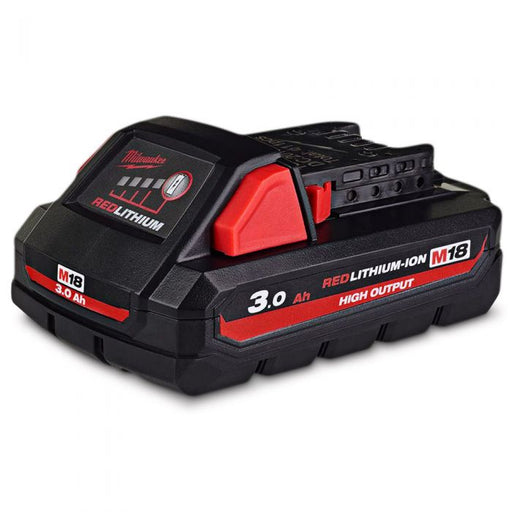 Milwaukee M18 REDLITHIUM High Output 3.0Ah Battery Pack - M18HB3