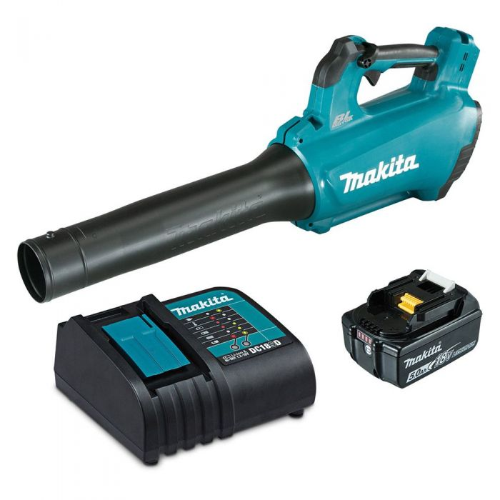 MAKITA 18V BRUSHLESS 1 X 5.0AH BLOWER KIT DUB184ST