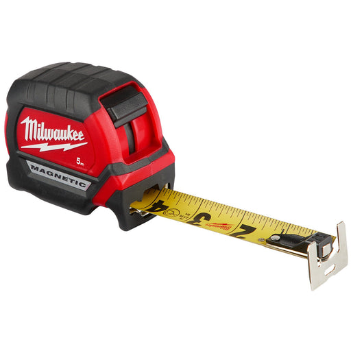 Milwaukee 5m Compact Magnetic Tape Measure 48220505