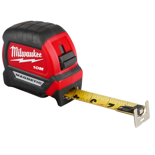 Milwaukee 10m Compact Magnetic Tape Measure 48220510