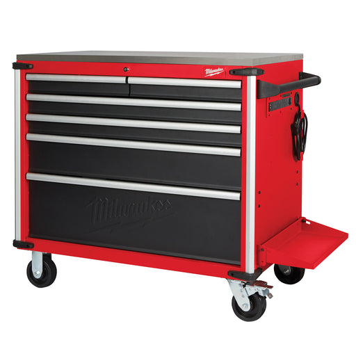 "Milwaukee 40"" Mobile Work Bench Steel Top 48228538"