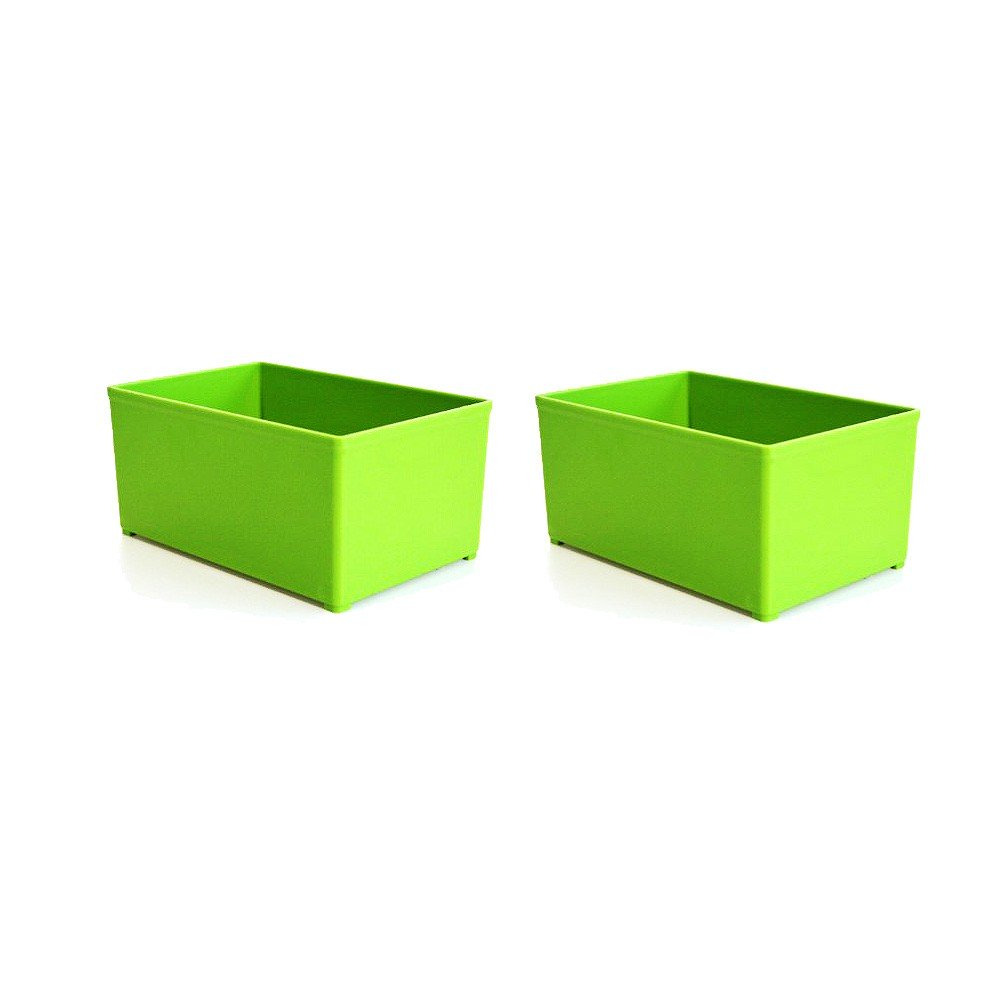 Festool Plastic Container for  T-Loc 98mm x 147mm - Green Box 98 x 147 GREEN/2x for Sys 1 TL