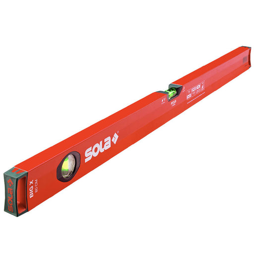 SOLA BIG X 200cm Spirit Level- 3 vials BIGX3200