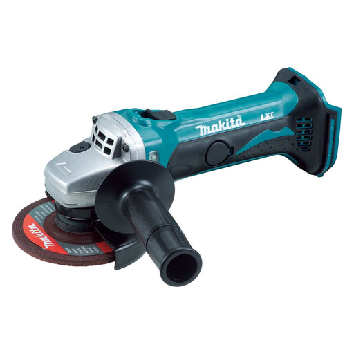 Makita 18V 115mm Angle Grinder, Slide Switch  - Tool Only DGA452Z