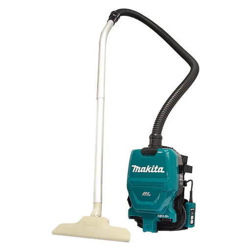 Makita 18Vx2 BRUSHLESS Commercial Backpack Vacuum - Tool Only DVC260ZX8