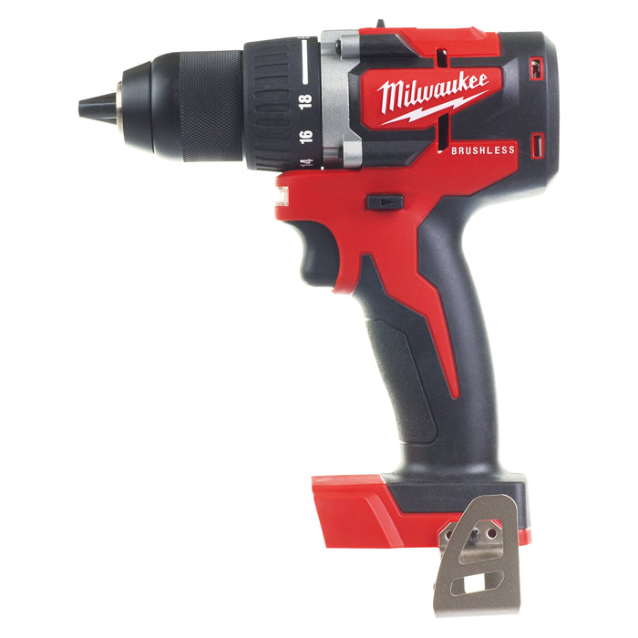 Milwaukee M18 Compact Brushless 13mm Drill Driver - Tool only M18CBLDD-0
