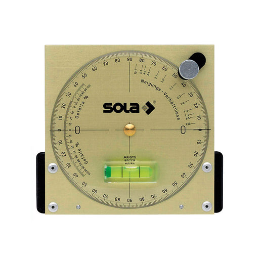 SOLA NAM Inclinometer 14.5cm with Aluminium plate (Magnetic) NAM13