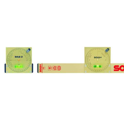 SOLA Inclinometer 50cm with Aluminium plate (Magnetic, Includes Carry Case) NAM50