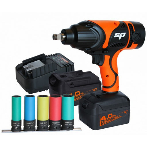 "SP Tools CORDLESS 18V IMPACT WRENCH 1/2""DR 550NM SP81127"