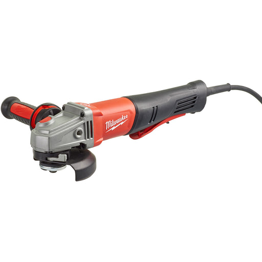 "Milwaukee 1250W 125mm (5"") Rapid Stop Angle Grinder AGV13-125XSPDEB"