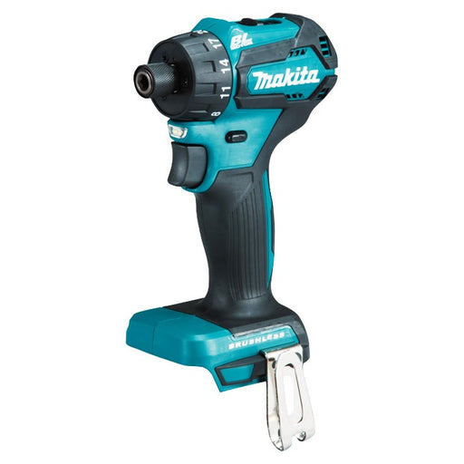 "Makita 18V Brushless 1/4"" Hex Driver Drill (tool only) DDF083Z"