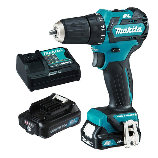Makita 12V Max BRUSHLESS Driver Drill Kit DF332DSAE