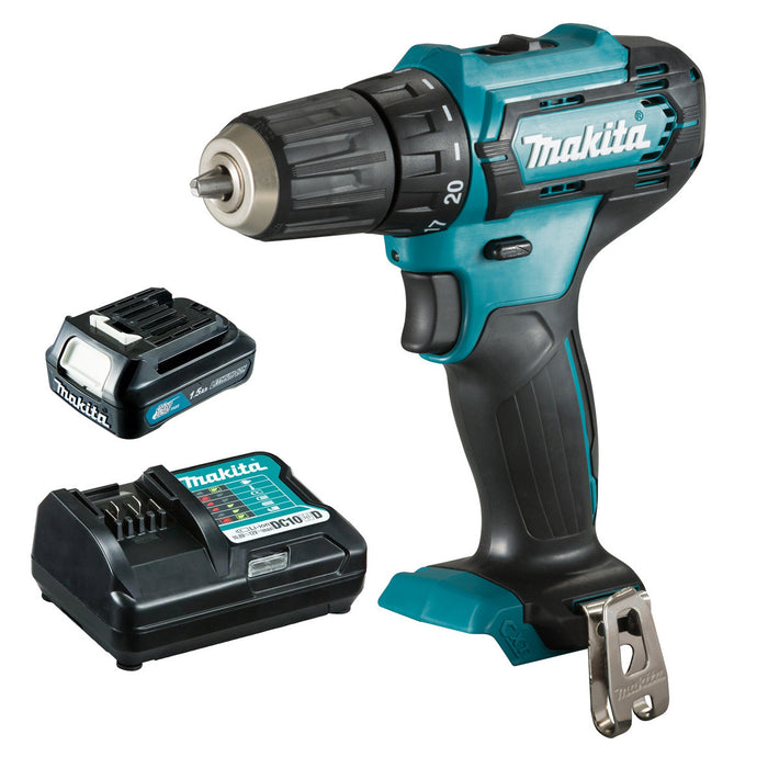 Makita 12V Max Driver Drill 1.5Ah Set DF333DWY