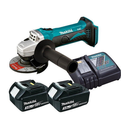 Makita 18V 115mm Angle Grinder Kit  DGA452RFE