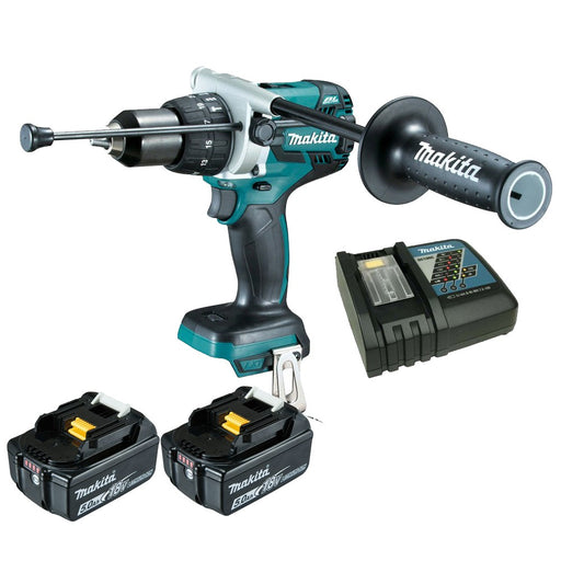 Makita 18V Brushless Hammer Drill 5.0Ah Set DHP481RTE
