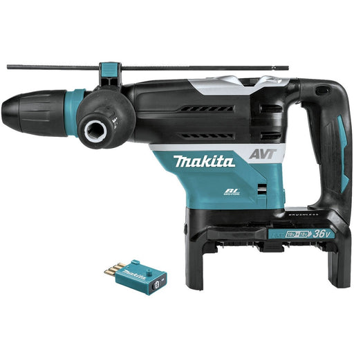 Makita 18Vx2 BRUSHLESS AWS 40mm SDS Max Rotary Hammer, Carry Case  - Tool Only DHR400ZKU