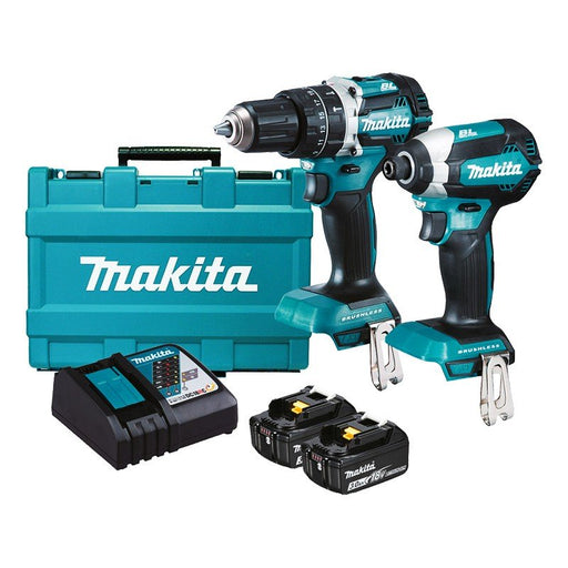 Makita 18V Brushless 2 Piece Combo DLX2180X