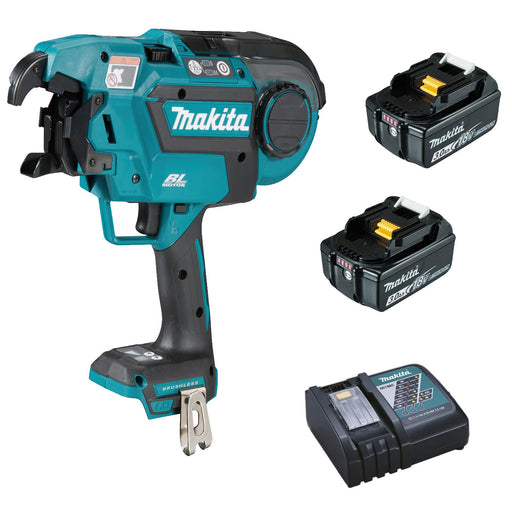 Makita 18V BRUSHLESS* Rebar Tying Tool  Kit  DTR180RFE