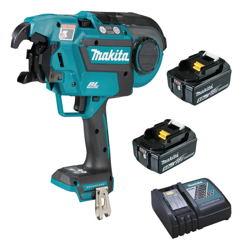 Makita 18V BRUSHLESS* Rebar Tying Tool Kit  DTR180RTE