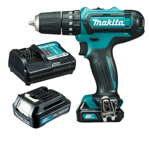 Makita 12V Max Hammer Driver Drill Kit HP331DWYE