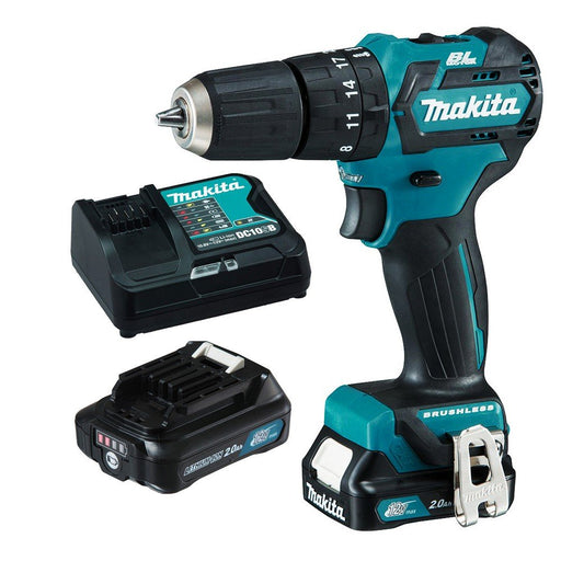 Makita 12V Max BRUSHLESS Hammer Driver Drill Kit  HP332DSAE