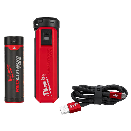 Milwaukee Redlithium USB Portable Power Source and Charger Kit L4PPS-201