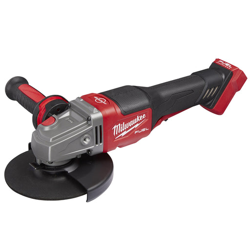 "Milwaukee 18V 125mm (5"") RAPID STOP Angle Grinder with Dead Man Paddle Switch (tool only) M18FSAG125XPDB-0"