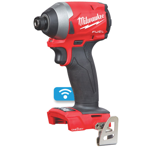 "Milwaukee M18 FUEL 1/4"" Hex Impact Driver with ONE-KEY - Tool only M18ONEID2-0"