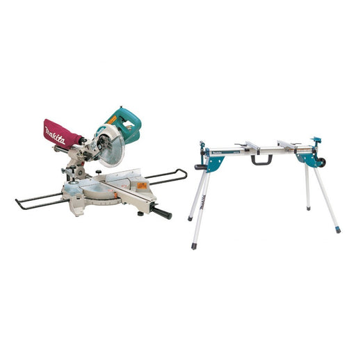 "Makita 190mm (7-1/2"") Slide Compound Saw (LS0714) & Stand (WST06) Combo  MAK-COMBO-015"