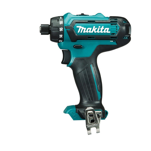 "Makita 12V Max 1/4"" Hex Chuck Driver Drill - Tool Only DF031DZ"