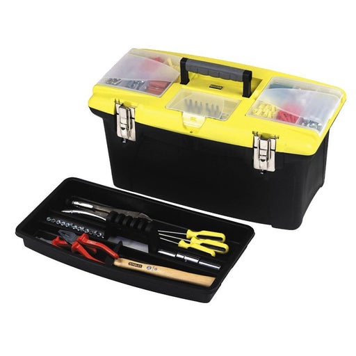 Stanley Tool Box Plastic Jumbo With Metal Latches 56Cm 1-92-908