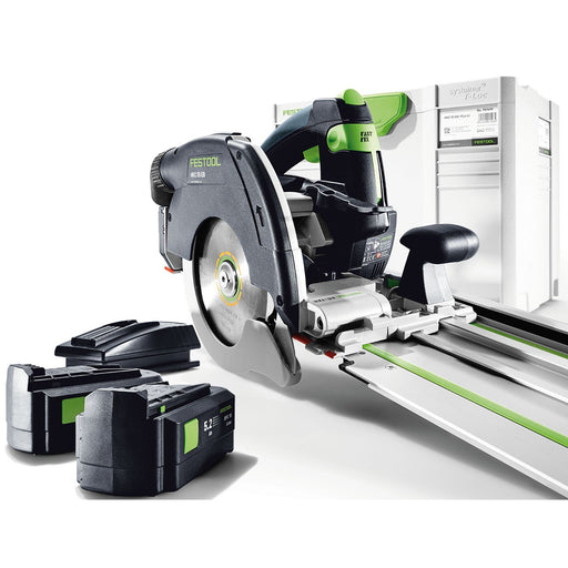 Festool HKC 55 Cordless Circluar Saw 5.2Ah with FSK Guide Rail HKC 55 EB Li 5.2Ah TCL6-Plus FSK 420
