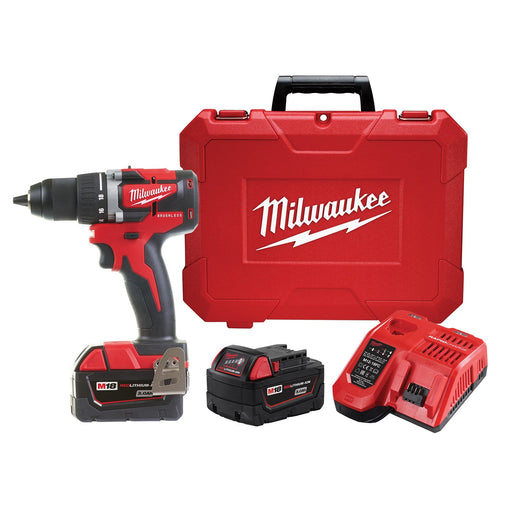 Milwaukee M18 Compact Brushless 13mm Drill Driver - 3.0Ah Kit M18CBLDD-302C