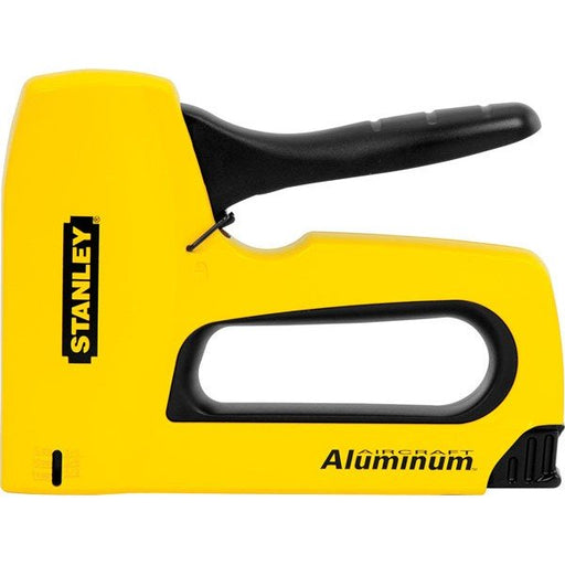 Stanley Sharpshooter Staple Gun Heavy Duty Aluminium Yellow TR150