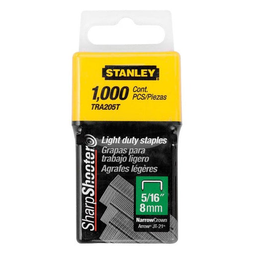 Stanley Staples Light Duty 6mm TRA204T