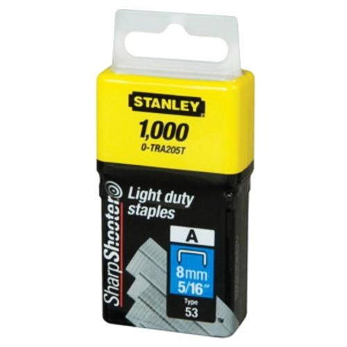 Stanley Staples Light Duty 8mm TRA205T